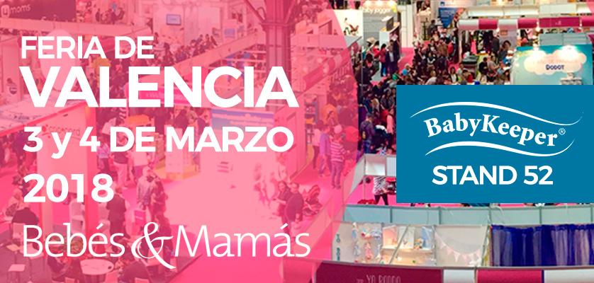 BabyKeeper estará presente en la Feria Bebés y Mamás de Valencia 2018 | Colchón de cuna BabyKeeper
