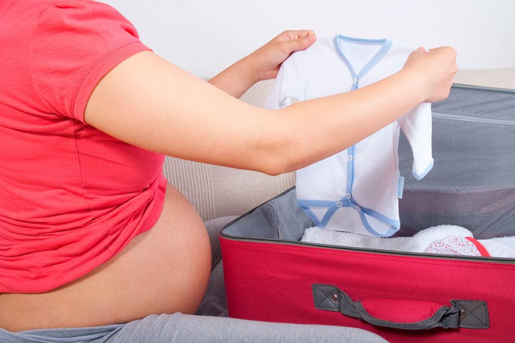 La atención en una gestante con embarazo a término