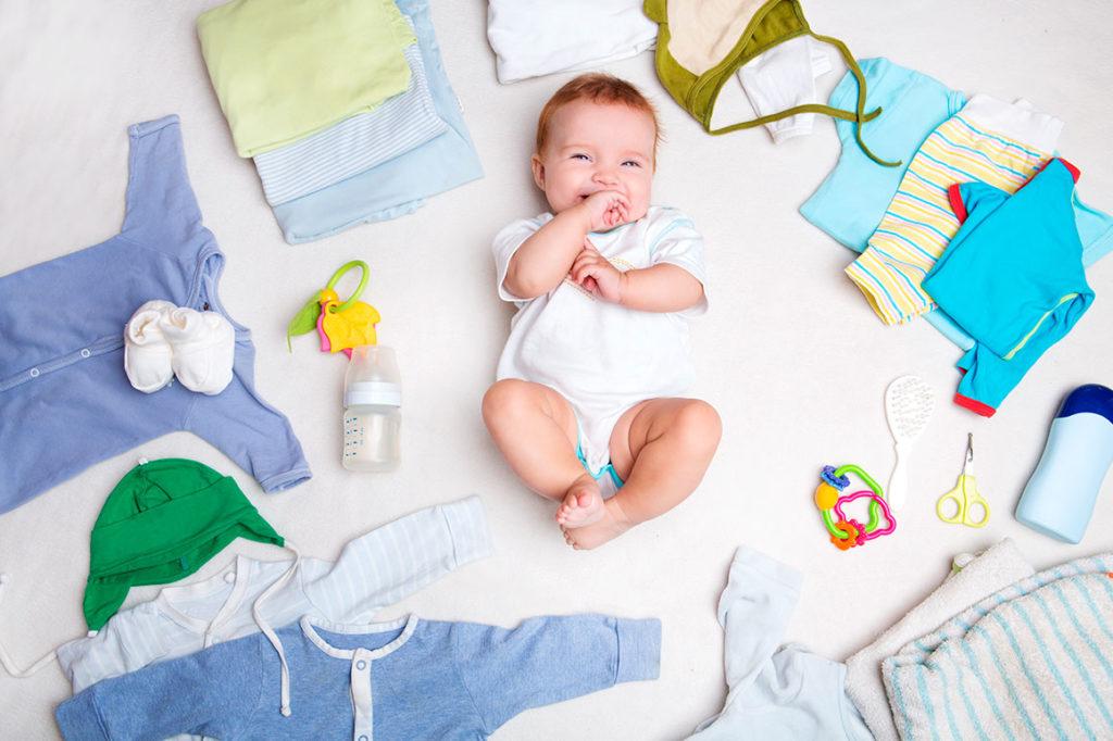 ropa que necesita un bebe