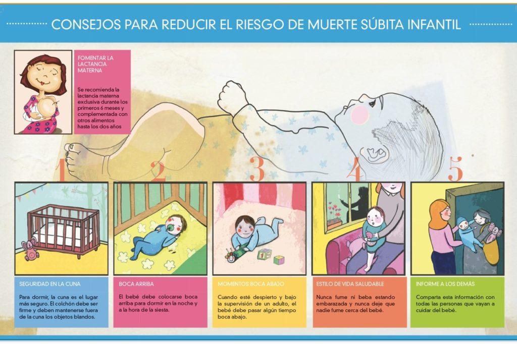 Consejos para reducir el riesgo de muerte súbita infantil