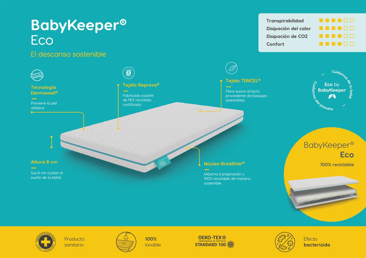 Estructura colchón de cuna BabyKeeper Eco